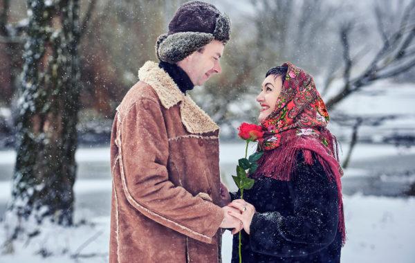 Зимний love story
